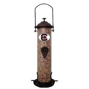 South Carolina Gamecocks NCAA Team Logo Bird Feeder