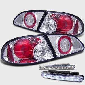 Eautolight 98 02 Toyota Corolla Tail Lights+led Bumper Fog Lamps Brand