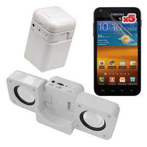 Speaker Fold up Docking Station For Samsung Galaxy S 2 Epic 4g Touch