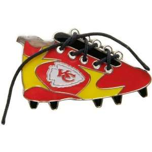 NFL Kansas City Chiefs 1 1/4 Inch Lace Up Cleat Pin