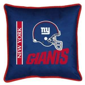 York Giants NFL 17x17 Inches Sideline Toss Pillow