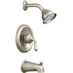 Moen T2449BN/2520 Monticello One Handle Tub & Shower Faucet   Brushed