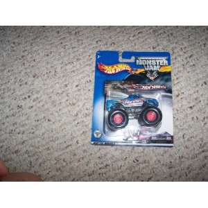 Hot Wheels Monster Jam Blue Hot Wheels Truck Toys & Games
