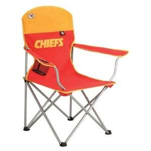 Kansas City Chiefs NFL Deluxe Folding Arm Chair