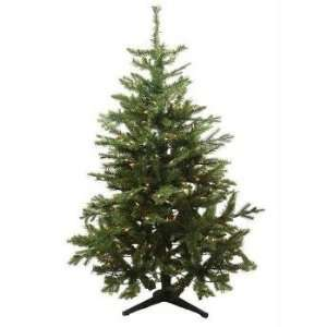 4.5 Pre Lit Mixed Jefferson Pine Artificial Christmas Tree