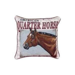 American Quarter Horse Animal Decorative Throw Pillow 17