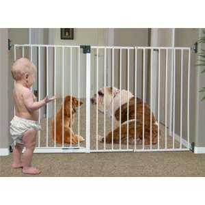 Imperial Long Safety Gate   Solid Mount Design Baby