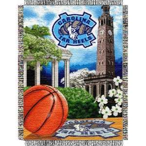 of North Carolina Collegiate Woven Tapestry Throws