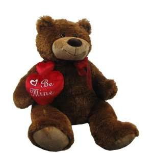30 Plush Love Teddy Bear Holding Heart  Toys & Games