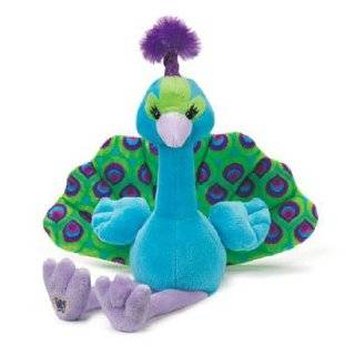 Webkinz Pretty Peacock Plush Stuffed Animal with Webkinz Bookmark and