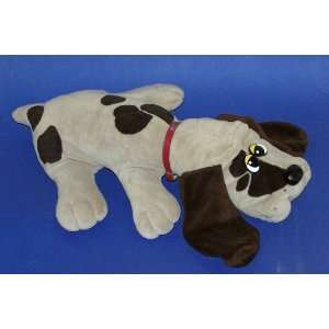 Original 19 Plush Pound Puppy (Grey with Spots) Toys & Games