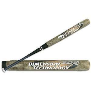 Worth 3DX Dimension Technology Softball Bat Sports
