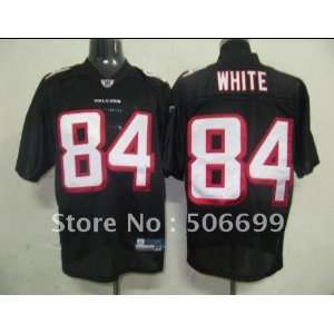 2011 atlanta falcons 84 white black jerseys usa football jersey sports