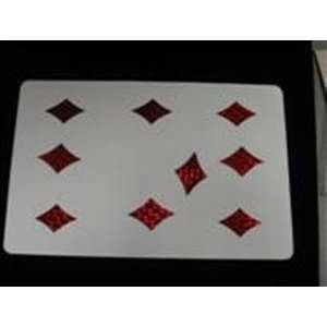 Magnetic Pip Card   Stage / Kid Show / Magic trick Toys