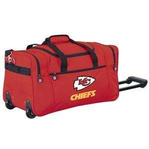 Kansas City Chiefs NFL Rolling Duffel Cooler by Northpole Ltd