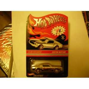 2002 HOT WHEELS RED LINE CLUB CLUB EXCLUSIVE SILVER CHROME CUSTOM