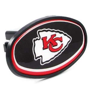 Kansas City Chiefs   NFL Plastic Hitch Cover With Team