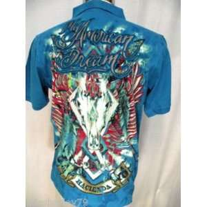 CHRISTIAN AUDIGIER ED HARDY DREAM MEN POLO SHIRT 2XL