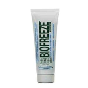 BIOFREEZE PAIN RELIEVING GEL 4 OZ TUBE NICE AND FRESH