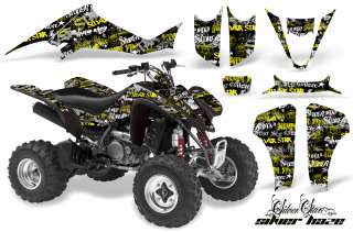 AMR ATV GRAPHIC DECAL KIT KAWASAKI KFX 400 KFX400 03 08
