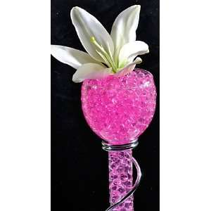 Pink Water Beads   Events   Floral   Wedding Planners