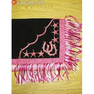 Show Barrel Racing Rodeo Saddle Blanket Pad 358